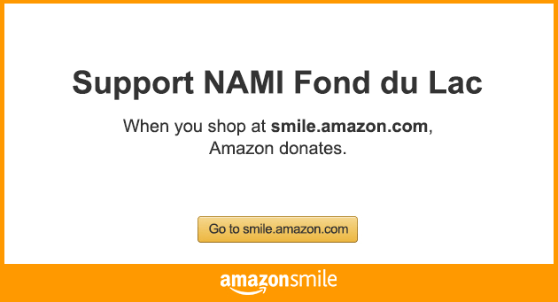 NAMI Fond du Lac Amazon Smile Button