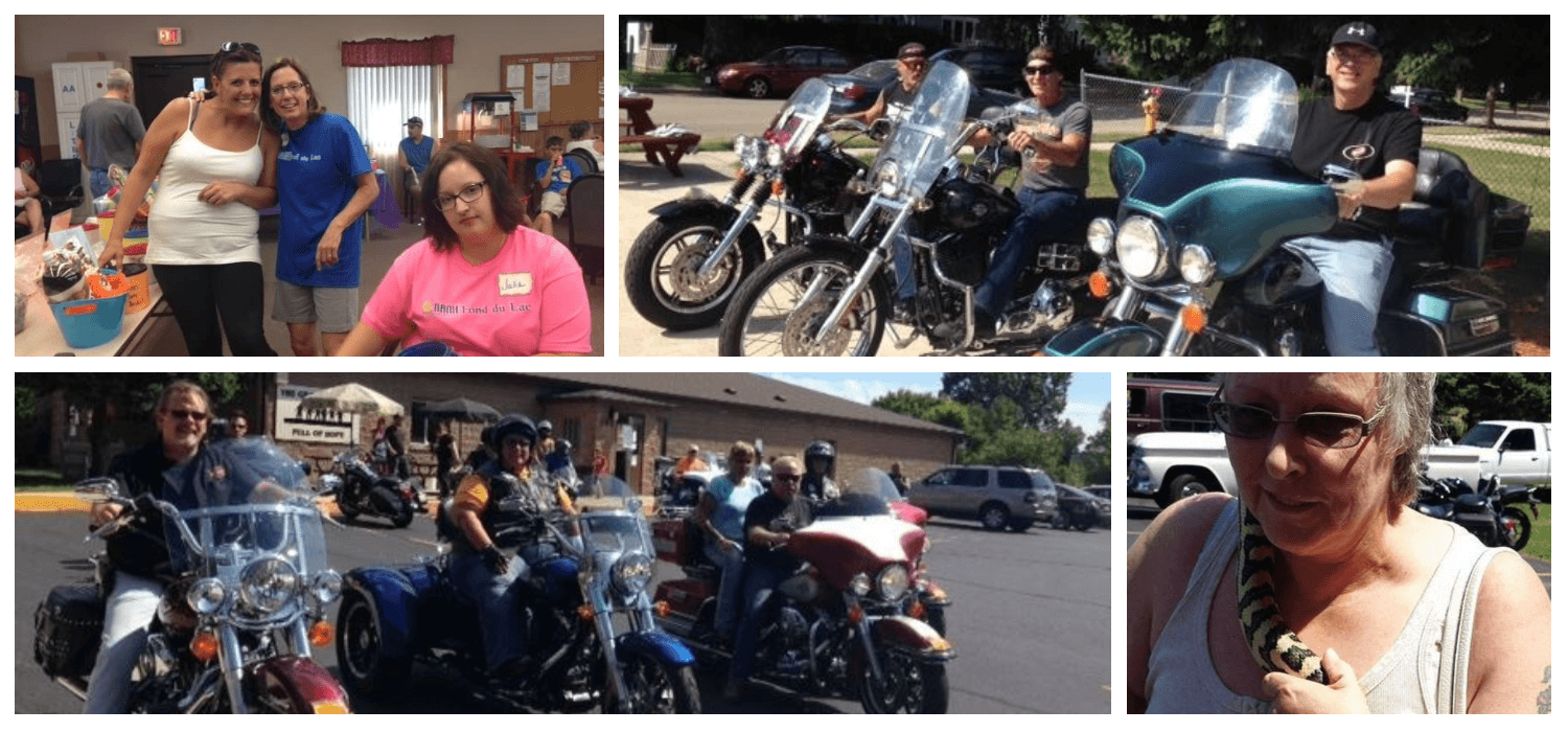 NAMI Fond du Lac Ride for The Mind