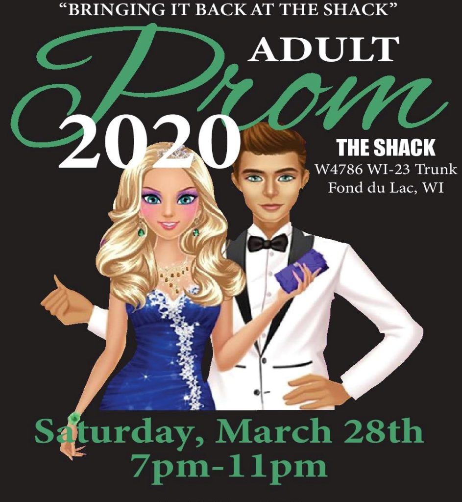NAMI Fond du Lac Adult Prom Poster