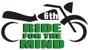 6th Annual Ride for The Mind Logo NAMI Fond du Lac